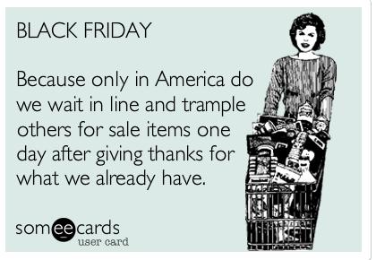 Black Friday someecard